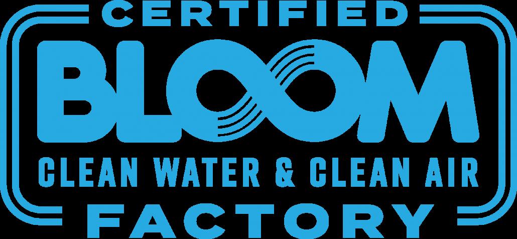 Bloom Certified Factory Mark